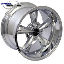 17x10 mustang wheels 17x10 5 chrome bullitt mustang replica wheel 94 04