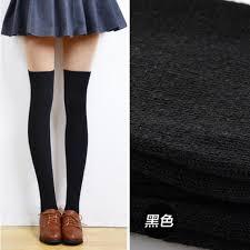 amazon com long cotton stockings morecome women thigh high over