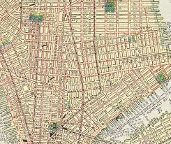 New York Street Map by Old New York City Map Huge Vintage Historic 1910 New York City Nyc