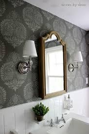 bathroom stencil ideas exclusive ideas bathroom stencil designs 3 driven by decor