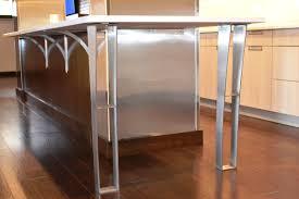 Glass Breakfast Bar Table Steel Aluminium Support With Glass Breakfast Bar Supports And Bk