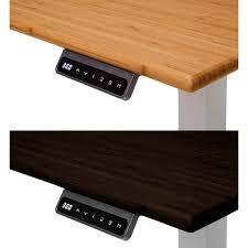 versa stand up desk ofm motorized height adjustable stand up desk 72 wide hat 3072