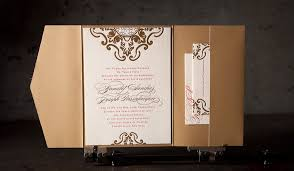 wedding invitations printing foil sted wedding invitation no 12371 boxcar press