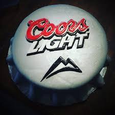 top 5 light beers coors light beer top cake coorslight cake groomscake tbt