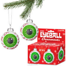 eyeball ornaments accoutrements archie mcphee wholesale