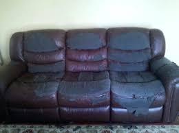 reupholster leather recliner u2013 dankit me