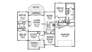 floor plans for 1 homes patio home plans level 1 home plans