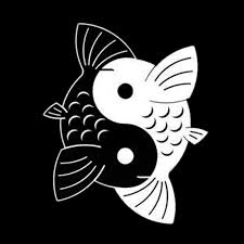 yjzt 12 4 15 2cm yin yang koi fish creative car stickers