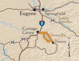 map of hwy 58 oregon the cottage grove coered brides tour tripcheck oregon traveler
