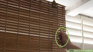 How To Fix Blinds String How To Roll Up Blinds 14 Steps With Pictures Wikihow