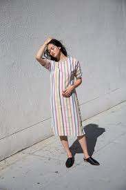 ace u0026 jig tess dress in prism garmentory