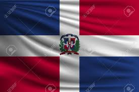 Domenican Flag The National Flag Of Dominican Republic The Symbol Of The State