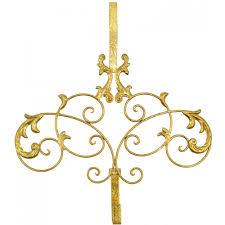 scroll wreath hanger gold 56211 dp craftoutlet