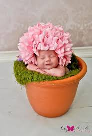 infant photo props pink cap session prop newborn baby girl infant cap