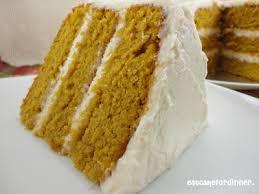paula deen u0027s pumpkin cake with cinnamon buttercream food