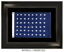 Flag 48 Stars Bonsell Americana An Antique Flag Company All Offerings