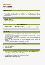 sample resume for software engineer fresher sample resume