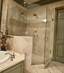 Tiled Shower Ideas by Ceramic Tile Shower Ideas Grey Stained Wooden Carving Frame Glass