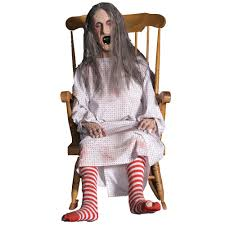 old spirit halloween props old lady in rocking chair inspirations home u0026 interior design