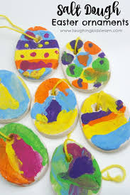easter ornaments salt dough easter ornaments kids can make and paint laughing