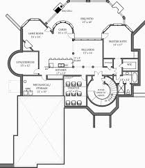 Floor Plans With Basement by Hennessey House 7805 4 Bedrooms And 4 Baths The House Designers