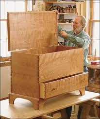 shaker blanket chest project plan by charles durfee woodworking