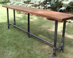 Sofa Bar Table Bar Table Etsy