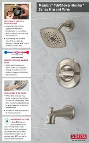 gooseneck shower head extension delta faucet 75700 combination and
