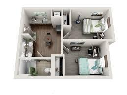 Best 2 Bhk House Plan Room Types Uk Housing