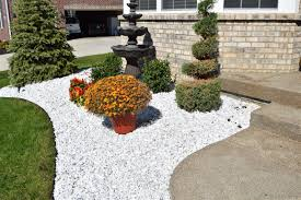 White Rock Garden White Marble Rocks For Landscaping Outdoor Goods
