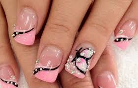 imagenes de uñas acrilicas con pedreria los mejores diseños de uñas decoradas con piedras del momento