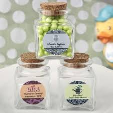 jar party favors personalized christening favors elegantgiftgallery