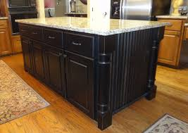 distressed black kitchen island black kitchen island with granite top kitchentoday