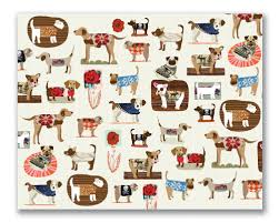 dachshund wrapping paper dogs in sweaters stationery and gift wrap by ecojot dog milk