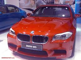 first bmw m5 first melbourne red f10 m5 by bmw individual shows at qatar