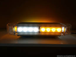 amber mini light bar 14 led mini light bar emergency warning light automo lighting