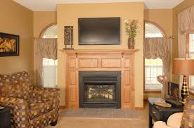 two quarter round windows at fireplace pennwest homes