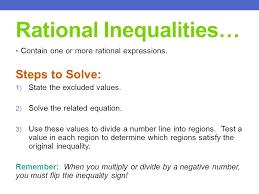 10 rational inequalities