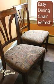 Upholster Dining Room Chairs by How To Recover Dining Room Chairs Recovering Dining Room Chairs