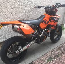 ktm 450 sx supermoto road legal mx enduro in alloa