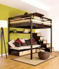 dorel dhp full metal loft bed over workstation desk multiple for