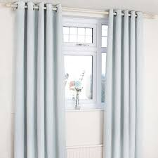 duck egg orion blackout eyelet curtains dunelm country cottage