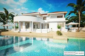 House With Pool Story House With Pool Id 26301 House Plans By Maramani