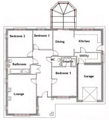 Free 3 Bedroom Bungalow House Plans by Pictures 3 Bedroom Bungalow Designs Free Home Designs Photos