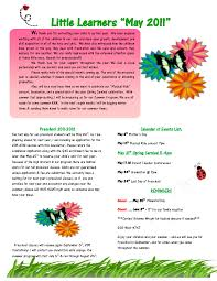 10 best images of spring preschool newsletter templates