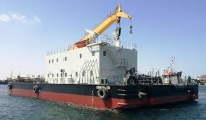 Binco Takes Delivery Of Crane Barge U0026 Anti Pollution Barge