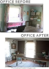 decorate a home office black and white home office makeover reveal