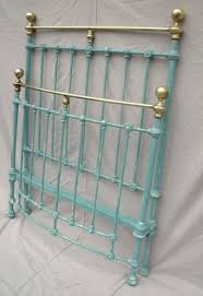 Paint Metal Bed Frame I May Paint My Metal Bed Frame This Color Teal Such A