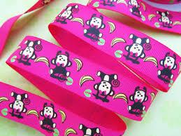 monkey ribbon embellishment world ribbon grosgrain print ribbon size 7