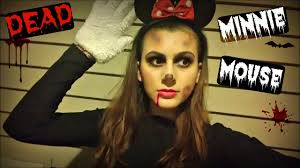 minnie and mickey mouse halloween costumes for adults dead minnie mouse my halloween costume youtube